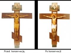 "Krzyż awers: ""Chrystus Ukrzyżowany"""
